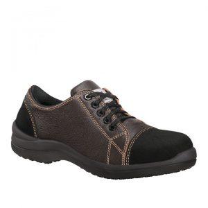 chaussure de sécurité Libert'in basse marron/chocolat
