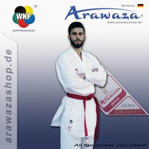 Arawaza Onyx Zero Gravity - WKF Approuvé / Broderie blanche