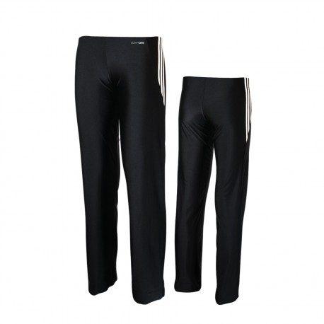 Bas tenue Boxe anglaiseFrancaise adidas noirbandes blanches