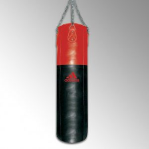 Sac de frappe pro 120 CM adidas noir/rouge 120x35 cm. Poids 37kg