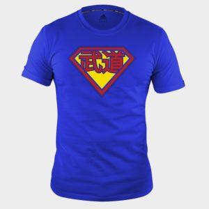 Tee Shirt adidas arts martiaux bleu