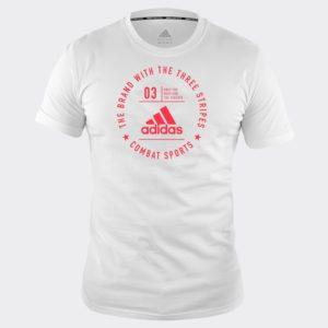 Tee Shirt adidas Combat Sports BLANC/ROUGE