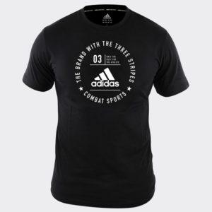 Tee Shirt adidas Combat Sports NOIR/BLANC