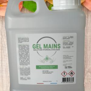 Gel hydroalcoolique 1L (le lot de 2 bidons). Pour la désinfections des mains